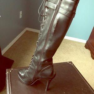 Charles David women's size 10 stiletto boots